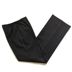 Worth Dark Grey Striped Career Pants 4 (T8)